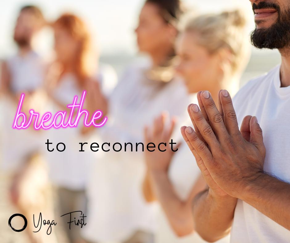 Breathe to Reconnect – Retreat di Yoga Online – Dal 27 novembre al 29 novembre